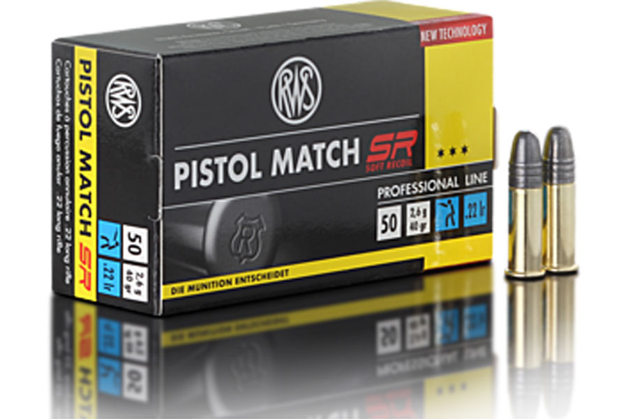 rws. 22lfb Pistol Match SR  ( 50 pcs/box )