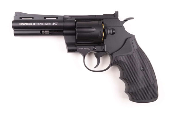 4,5 CO2 GUN SWISS ARMS 357 MAGNUM 4""