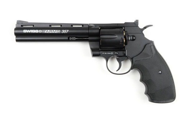 4,5 mm CO2 revolver SA 357 Metal 6""