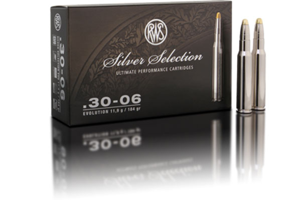 rws Silver Selection .30-06 EVO 11,9g, 20 pcs/box