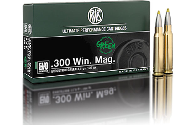 rws .300WinMag EVO GREEN 8,8g ( 20 pcs/box )