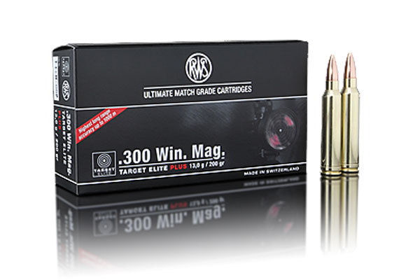rws .300 Win. Mag. Target Elite Plus 13,0g (20pcs/box)