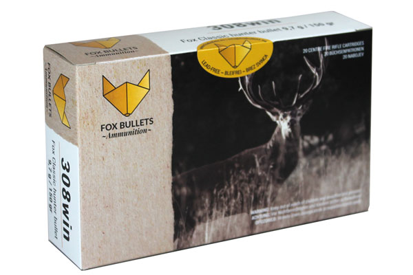 Fox 308 Win 9,7g / 150gr Classic Hunter Bullet