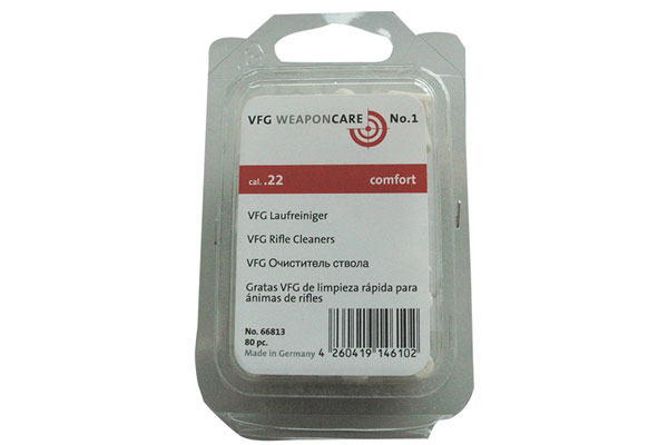 VFG Rifle cleaner cal. 22 (80pcs)