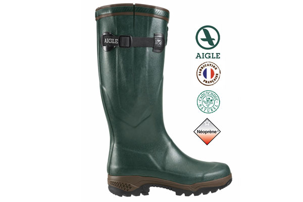 Boots AIGLE Parcours 2 Iso green No: 39