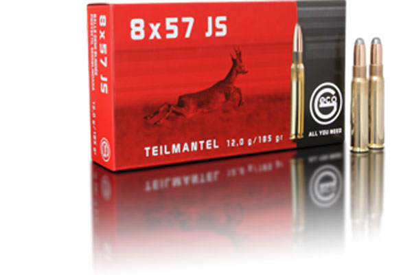 geco 8x57 JS TM 12,0g, 20 pcs/box