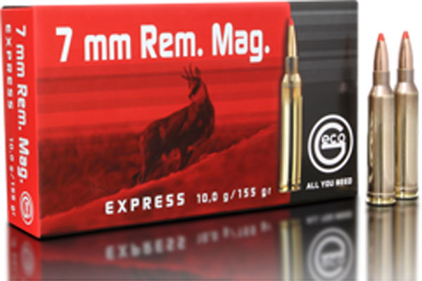 Geco 7 mm Rem. Mag. Express 10,0g ( 20 pcs/box )