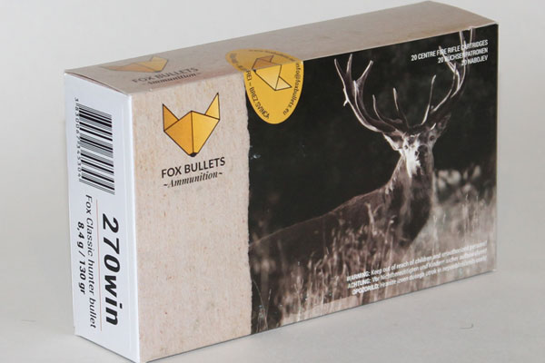 Fox 270 Win 8,4g / 130gr Classic Hunter Bullet