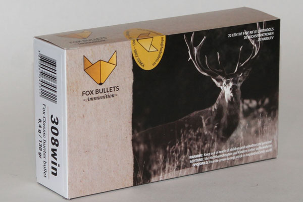 Fox 308Win  8,4g / 130gr Classic Hunter Bullet