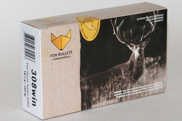 Fox 308Win 10,7g / 165gr Classic Hunter Bullet