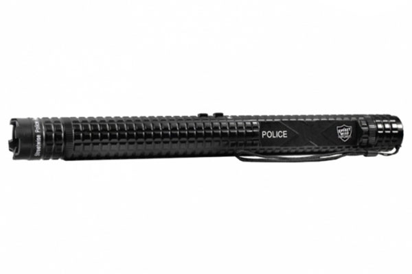 Police Force 12,000,000V Tactical Stun Baton Flashlight