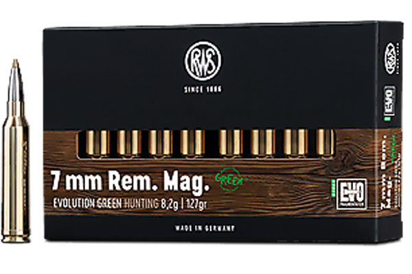 RWS 7mm Rem. Mag. Evolution Green 8,2g