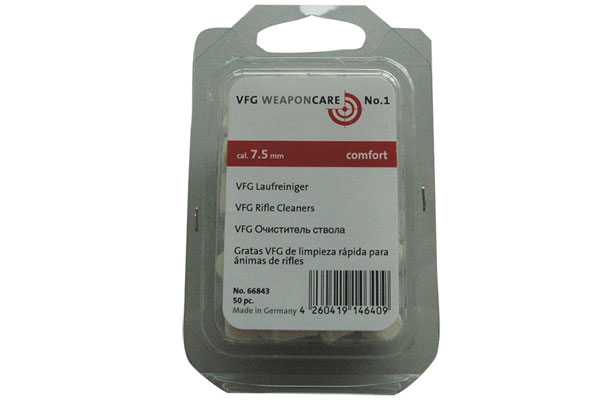VFG Rifle cleaner 7,5 mm (50pcs)