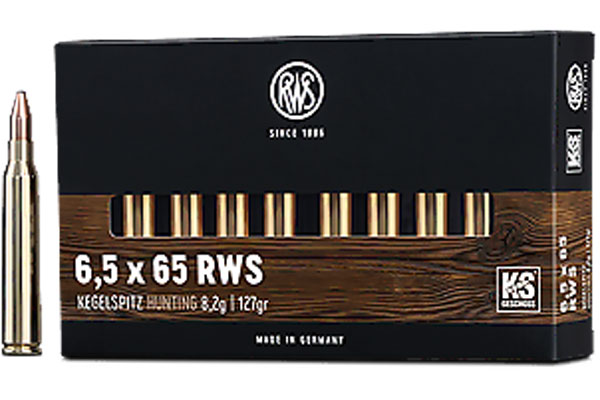 rws 6,5x65 RWS KS 8,2g, 20 pcs/box