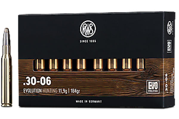 rws .30-06 EVO 11,9g, 20 pcs/box