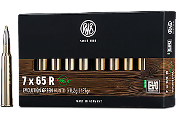 rws 7 x 65 R Evolution Green 8,2G (20kos)