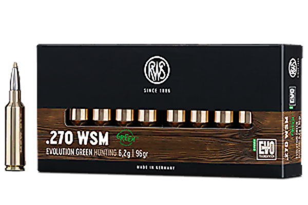 RWS .270 WSM Evolution Green 6,2G