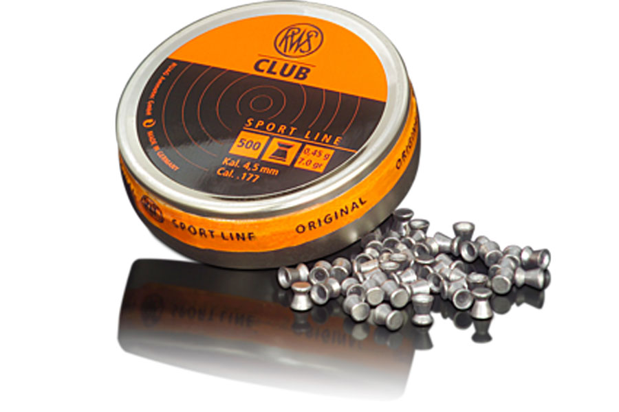 kal. 4.5 mm, rws diabolo club , 500 kos