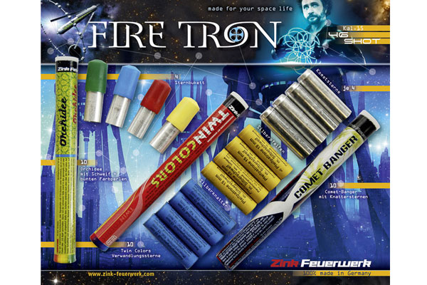 Fire Tron 15mm set signalnih nabojev (46)