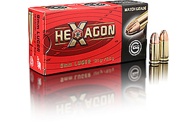 geco 9 mm Luger HEXAGON 8,0g (50)