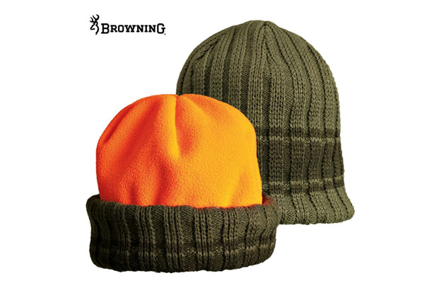 BROWNING Polar Fleece Reversible beanie