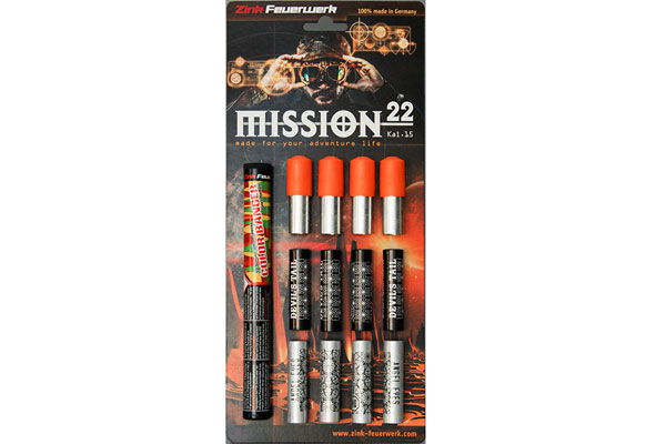 Mission 15mm (22) set signalnih nabojev