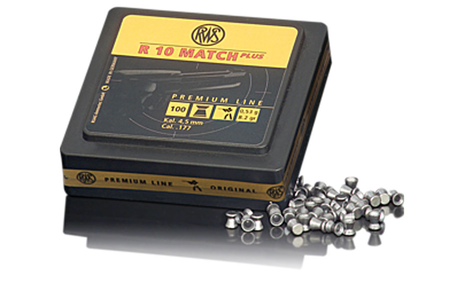 cal.4,50 mm rws R10 Match Plus ,053g,100 pcs ,rifle