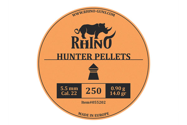 kal. 5,5mm Rhino Hunter diabole (250)