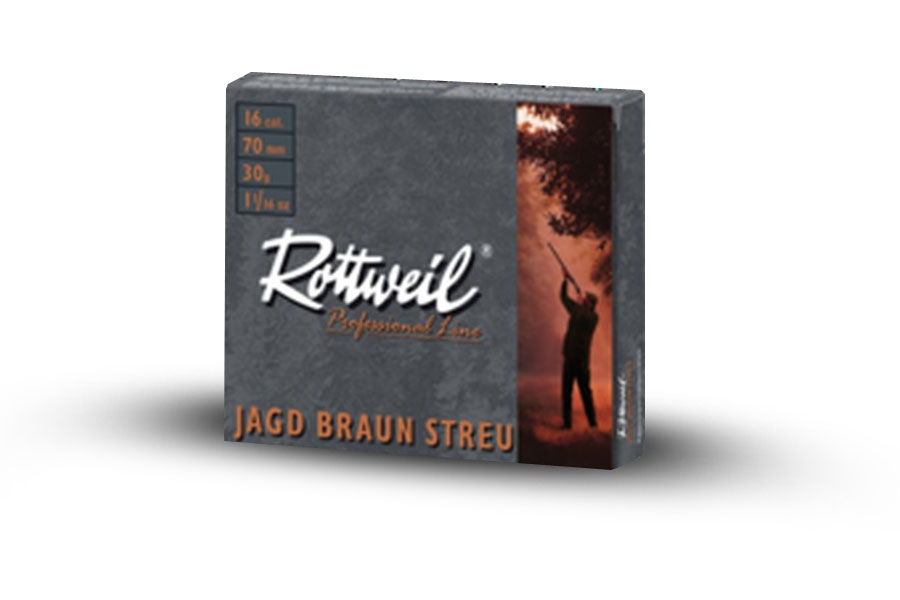 rtw jagd 16/70, 30g, 2.7mm, brown paper ( 10  )