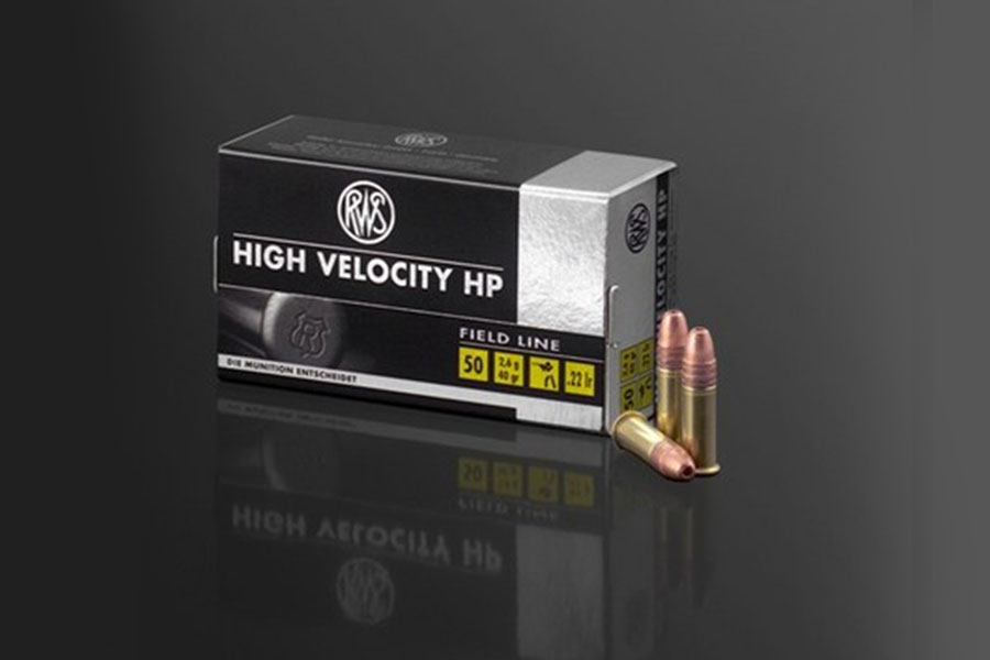 rws .22lfB High Velocity-Hollow Point   ( 50 pcs/box )