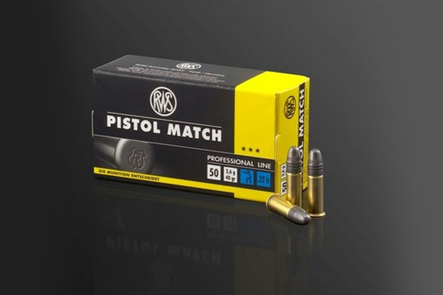 rws .22 lfB Pistol Match    ( 50 pcs/box )