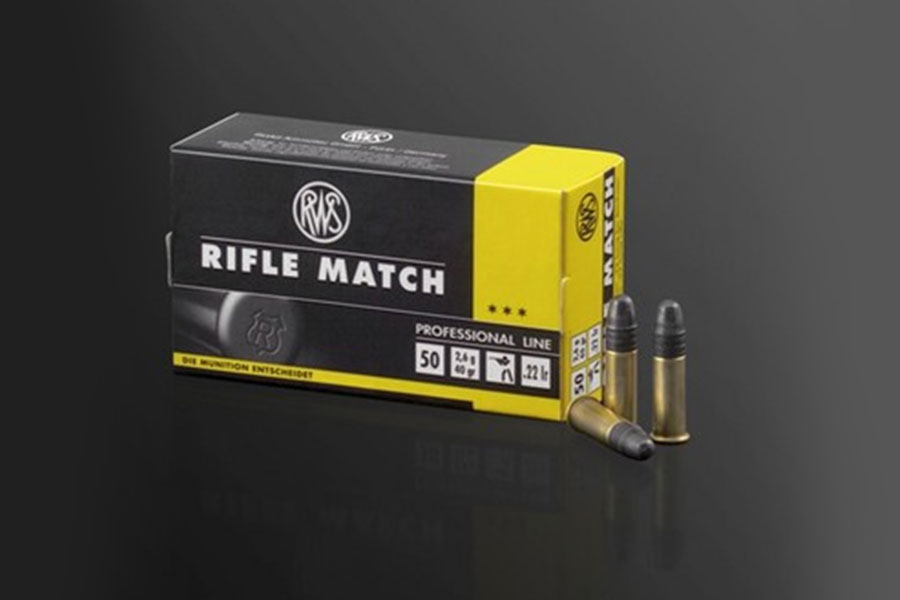 rws .22lfB Rifle Match  ( 50 pcs/box )