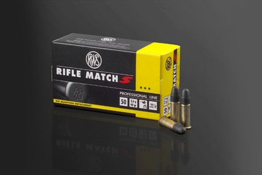 rws .22lfB Rifle Match S  ( 50 pcs/box )