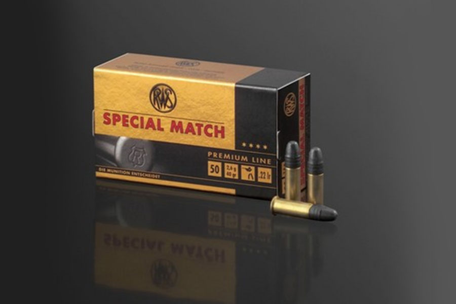 rws .22 lfB Special Match    ( 50 pcs/box )
