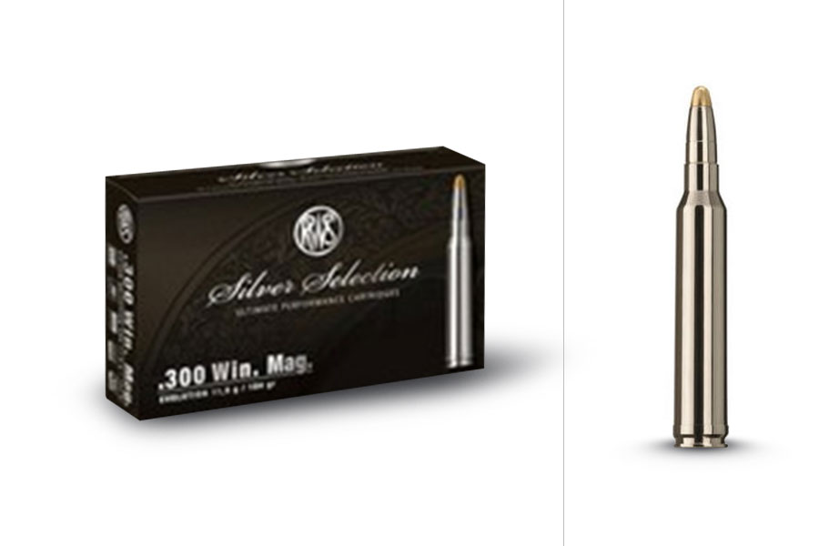 rws Silver Selection .300 Win. Mag EVO 11,9g, 20 pcs/box