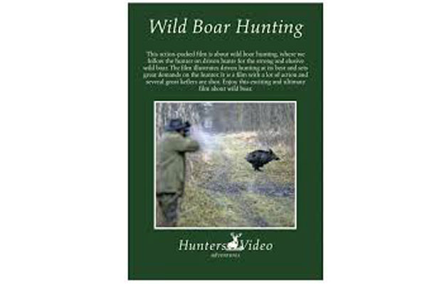 """Wild Boar Hunting"" DVD"